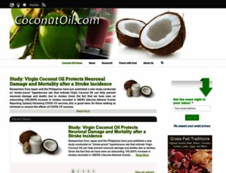 coconut-info.com screenshot