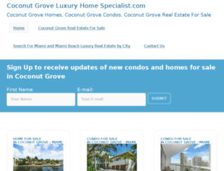 coconutgroveluxuryhomespecialist.com screenshot