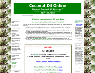 coconutoil-online.com screenshot