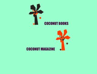 coconutpoetry.org screenshot