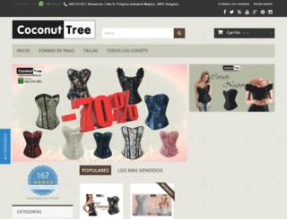 coconuttree.es screenshot