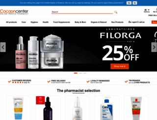 cocooncenter.co.uk screenshot