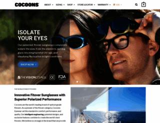 cocoonseyewear.com screenshot