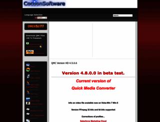 cocoonsoftware.com screenshot