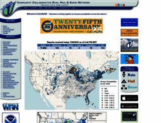 cocorahs.org screenshot