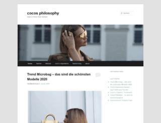 cocos-philosophy.de screenshot