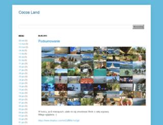 cocosland.blogspot.com screenshot