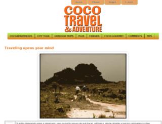 cocotraveladventure.com screenshot