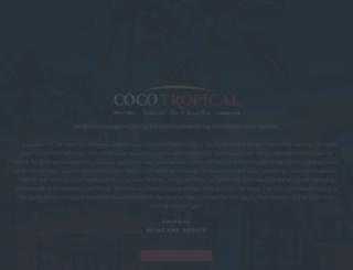 cocotropical.com screenshot