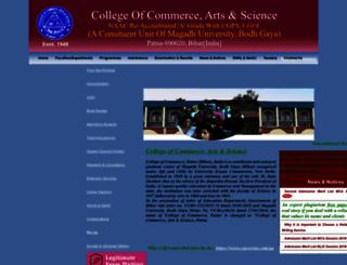 cocpatna.org screenshot