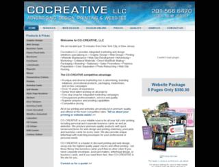 cocreativellc.com screenshot