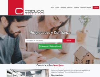 cocucci.com.ar screenshot