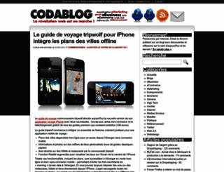 codablog.fr screenshot