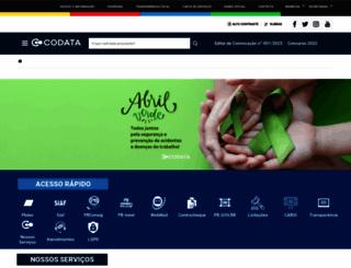 codata.pb.gov.br screenshot