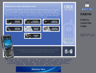 code-calculator.co.uk screenshot