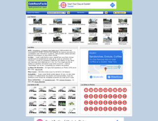 code-route-facile.com screenshot