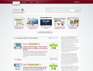 code-shopping.fr screenshot