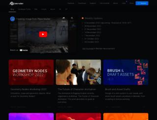 code.blender.org screenshot