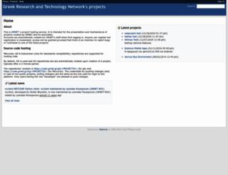 code.grnet.gr screenshot