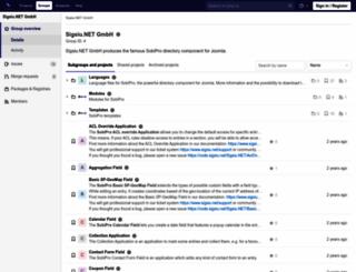 code.sigsiu.net screenshot