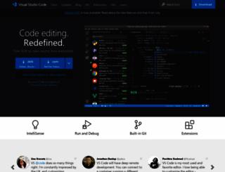 code.visualstudio.com screenshot