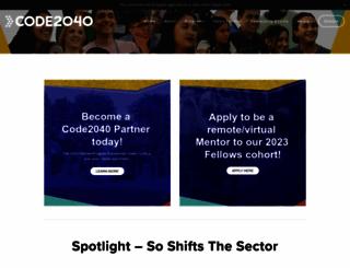code2040.org screenshot