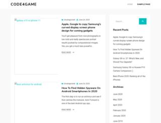 code4game.com screenshot