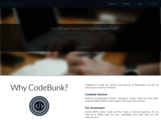 codebunk.com screenshot