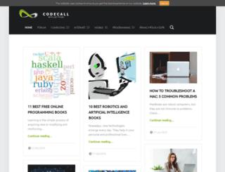 codecall.net screenshot