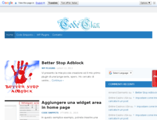codeclan.altervista.org screenshot
