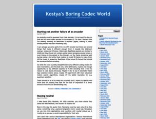 codecs.multimedia.cx screenshot