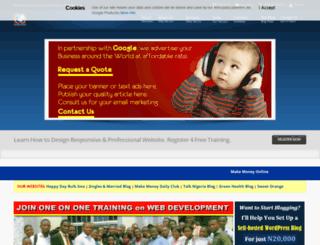codedwebmaster.com screenshot