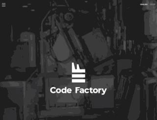 codefactory.gr screenshot