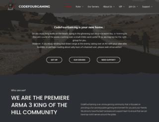 codefourgaming.com screenshot