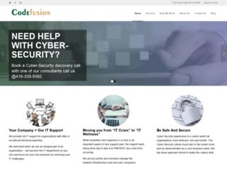 codefusion.com screenshot