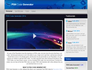 codegeneratorfree.net screenshot