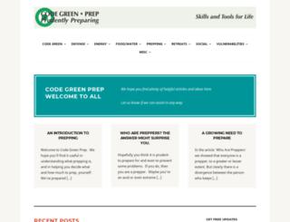 codegreenprep.com screenshot