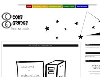 codegrudge.blogspot.in screenshot