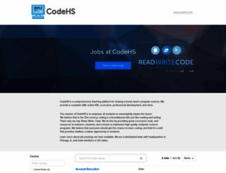 codehs.recruiterbox.com screenshot