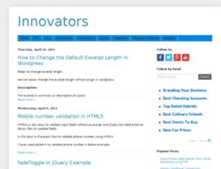 codeinnovators.blogspot.in screenshot