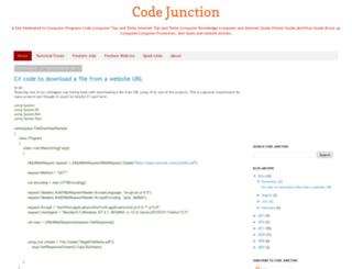 codejunction.blogspot.kr screenshot