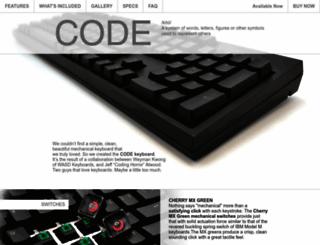 codekeyboards.com screenshot