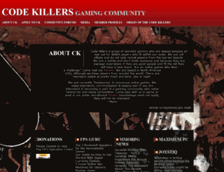 codekillers.net screenshot