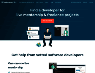 codementor.io screenshot