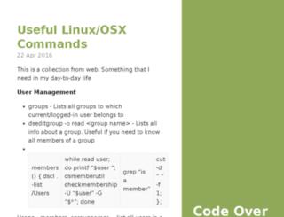 codeovercappuccino.com screenshot