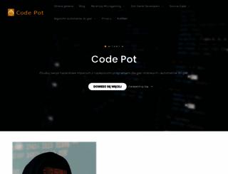 codepot.pl screenshot