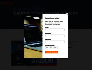 coderfoundry.com screenshot