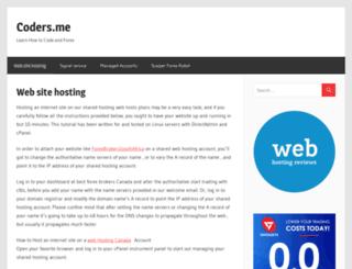 coders.me screenshot