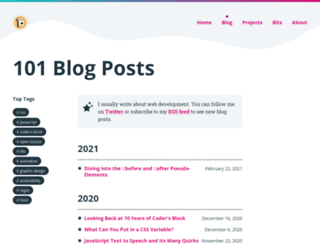 codersblock.blogspot.be screenshot
