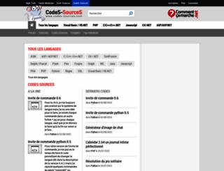 codes-sources.com screenshot